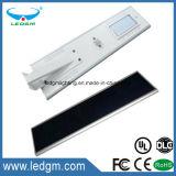 Fábrica APP de Shenzhen que controla la lámpara de calle solar de 40W LED