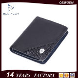 Guangzhou Co Ltd de cuero de cuero de cocodrilo RFID Casual monederos clips