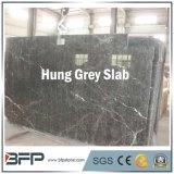 La superficie Polished colgó la losa de mármol gris para el revestimiento de la pared