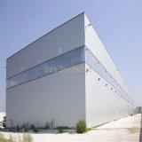 Edificio de almacenaje ligero prefabricado del metal de la estructura de acero para la venta