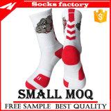 Los calcetines de la toalla del hombre, el baloncesto masculino de las medias se divierten calcetines