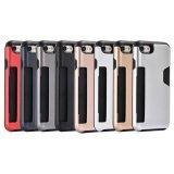 Haltbarer flexibler Einbauschlitz-hybrider Kasten für iPhone Fall