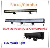 Serie superior 4 de la barra ligera de la pulgada LED de la venta 234W 36