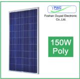 150W Poli Panel Solar para el Sistema Solar