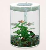 El nuevo pequeño tanque de pescados diseñado del acuario para el vector
