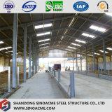 Usine préfabriquée de structure métallique pour l'étable