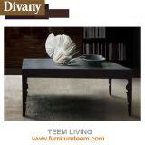 MDF Wood mesa móvel de cama móvel com mesa de cama de mesa acabada lustrosa