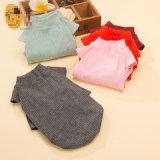 Pure Color Cotton Pet T-shirt Spring Dog Cute T-Shirt