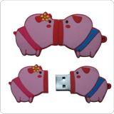 Movimentação do USB do PVC dos desenhos animados
