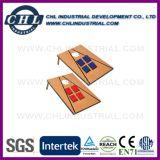 Logo Placa de MDF impressa Conjunto de jogo Cornhole com saco de feijão