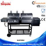 中国の製造業者の卸売のステンレス鋼の木炭ガスBBQのグリル