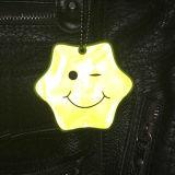 LED réflectif sourire Hanger Tag trousseau avec ce FR13356 certifié