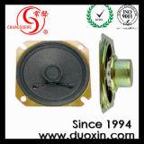altoparlante quadrato di carta 32ohm 1.0W Dxyd57n-22z-8A-F di 57mm*57mm