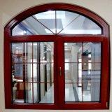 Aluminium kurvte ringsum eingehängte Glasfabrik flügelfenster-Tür-Fenster-Entwurfs-China-Guangdong
