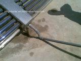 Não coletor de calor solar de câmara de ar de vácuo da pressão