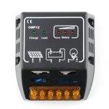 регулятор CMP12-10A заряжателя панели PV фотоэлементов 10A 12V/24V