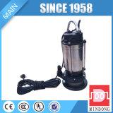 Qdx1.5-16-0.37 Série 0.37kw / 0.5HP Bomba submersível de água clara