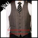 En polyester tissé Jacquard Mens Cheap gilet mode