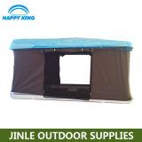 ABSは開いたキャンプテント自動車の屋根の上のテント絶食する