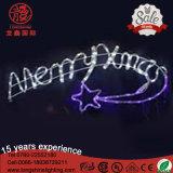 LED eingehangenes Pole-Motiv-frohe Weihnacht-Licht für Street-Dekoration