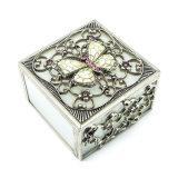 Contenitore di monili di vetro di modo di marchio delle donne su ordinazione di lusso di memoria Hx-7338