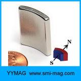De permanente Magneet NdFeB van de Magneet van de Motor Boogvormige