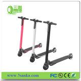Aprobación CE 100W Batería de litio ligera niños eléctrico plegable de 2 ruedas Scooter de movilidad
