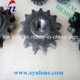 Rueda de cadena de acero que trabaja a máquina del CNC para la máquina