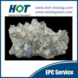 De Minerale Verwerking van het bariet