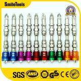 биты отвертки pH2 65mm с покрашенной магнитной катушкой