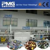 Bouteille en verre réutilisée retirant les étiquettes et la machine à laver