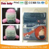 Puxar a fábrica dos tecidos das calças em China, bebê acima dos tecidos