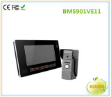 自動ビデオ録画が付いているカメラが付いている機密保護の相互通信方式との9インチビデオDoorphone