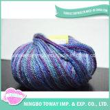 Foulard bon marché de gros de la laine tricot de fils de tissage de la machine