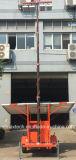 Torre de luz portátil accionada solar para la seguridad de la carretera