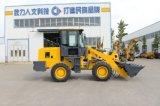 Neue Miniladevorrichtung des China-Zl20 Rad-2ton mit Gabel