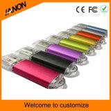 Movimentação por atacado de varejo do flash do USB do plástico com cores misturadas