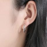 Echtes 100% 925 Sterlingsilber-stapelbare Tröpfchen-Stift-Ohrringe