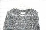 Maglione di lavoro a maglia spesso 100% del poliestere per le donne