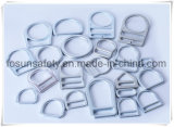 Clips D blancs modifiés de placage de zinc