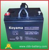 12V33ah Puissance motrice électrique batterie NP33-12 des batteries à cycle profond