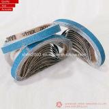 20 * 520mm, P60, Cinturones de lijado cerámicos para el metal de pulido