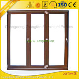 Personalizar el perfil del marco de puerta Aluminio Metal ligero.