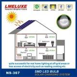 Painel solar 18W com lâmpadas LED de 6V Sistema de carregamento solar móvel