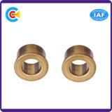標準外締める物のくだらない耐久力のある平らなRonudのヘッド銅の袖か真鍮のネジ