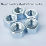 Plated zinc Clay 8 GB6170 Hexagon Nuts