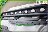 Panneau courant de barre d'opération latérale de 4 portes pour le Wrangler de jeep
