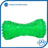 Durable perro mastique pesa juguetes [Series] Resistente a la mordedura Squeeze Chew Squeaky Toy para agresivos Chewers dientes Limpieza Dental en la boca de formación y reproducción