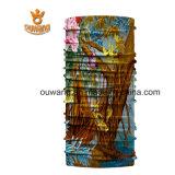 Bandanas multifonctionnels faits sur commande d'extension de polyester estampés par tube sans joint