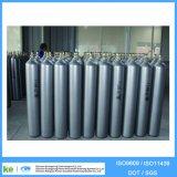 cilindro de gás industrial ISO9809 do aço 40L sem emenda